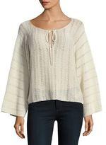 Ella Moss Open Knit Sweater