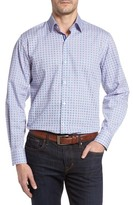 Tailorbyrd Men's Big & Tall Sycamore Print Sport Shirt