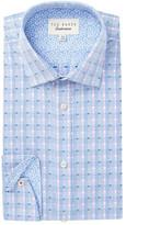 Ted Baker Fabron Trim Fit Dress Shirt