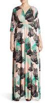 Rachel Pally, Plus Size Printed Long Caftan Dress