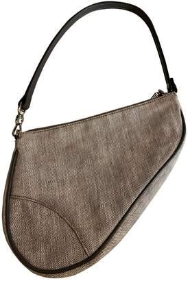 Christian Dior Grey Denim - Jeans Clutch bags