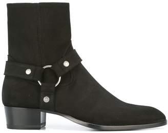 Saint Laurent Classic Wyatt 40 ankle boots