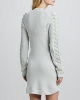 Theyskens' Theory Karessa Cable-Knit Sweaterdress