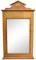 One Kings Lane Vintage Baker Faux-Bamboo Mirror