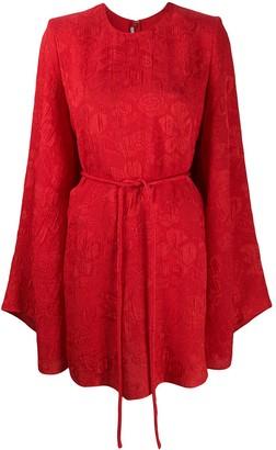 Stella McCartney Delia silk brocade dress