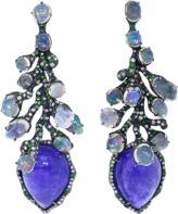 Arunashi Tanzanite And Opal Earrings