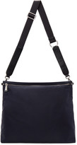Jil Sander Navy Nylon Messenger Bag