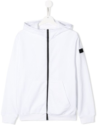 Il Gufo TEEN power print hoodie