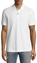 Belstaff Granard Cotton Pique Polo Shirt, White