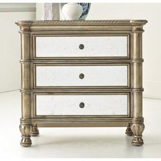 Hooker Furniture Melange Montage 3 Drawer Bachelor's Chest
