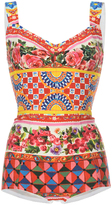 Dolce & Gabbana Printed Body Suit