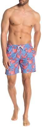Trunks Surf And Swim Co. Sano Crab Print Board Shorts