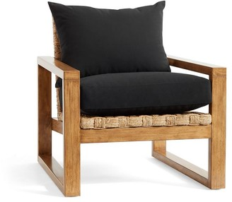 Pottery Barn Ventura Woven Accent Chair