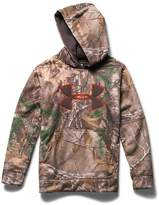 Under Armour Boys' Armour Fleece Camo Big Logo Hoodie Youth REALTREE AP-XTRA