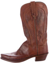 Lucchese Western Mid-Calf Boots