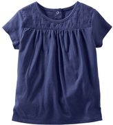 Osh Kosh Toddler Girl Lace Yoke Tee
