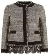 Marina Rinaldi Metallic Tweed Jacket