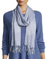 Eileen Fisher Airy Linen/Cashmere Scarf