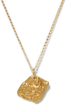 Alighieri Tiger 24kt Gold-plated Necklace - Yellow Gold