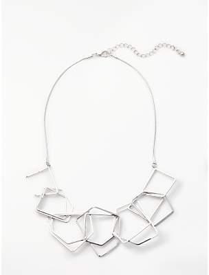 John Lewis & Partners Geometric Necklace