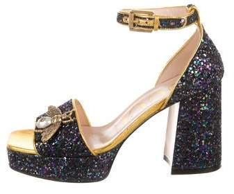 f8eb70b7d Gucci Blue Women's Sandals - ShopStyle