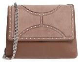 Sam Edelman 'Maddy' Leather Shoulder Bag - Brown