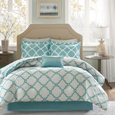 JCPenney Madison Park Essentials Concord Reversible Complete Bedding Set with Sheets