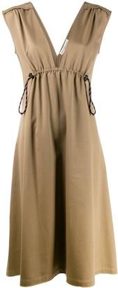 Golden Goose Drawstring Waist Dress