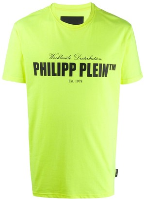 Philipp Plein logo print short sleeve T-shirt