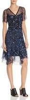 Elie Tahari Marceline Floral Print Silk Dress