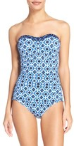 Tommy Bahama Women's Shibori One-Piece Swimsuit