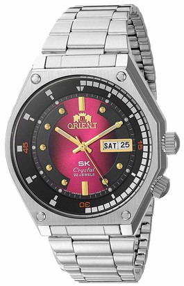 Orient Men's SK Diver Retro Japanese Automatic Stainless Steel Strap Silver 18 Casual Watch (Model: RA-AA0B01G19A)