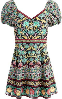 Alice + Olivia Dana short-sleeve dress