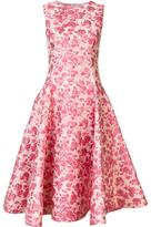 Christian Siriano floral dress