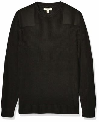 Goodthreads Amazon Brand Men's Soft Cotton Military Sweater