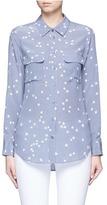 Equipment 'Slim Signature' star print silk shirt