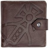 Vivienne Westwood Orbit Embossed Leather Wallet