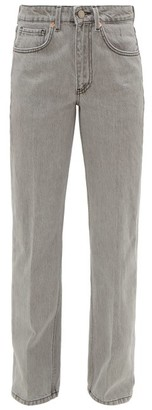 Raey Push Straight-leg Boyfriend Jeans - Light Grey