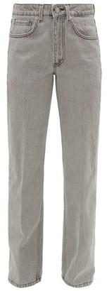 Raey Push Straight-leg Boyfriend Jeans - Womens - Light Grey