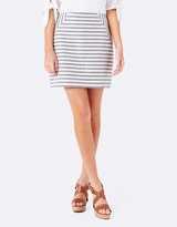 Forever New Emily Panel Stripe Mini Skirt