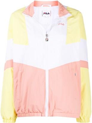 Fila Zip-Through Colour-Block Jacket