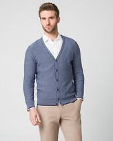 Le Château Tonal Cotton Button-Front Cardigan