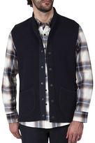 Haggar Heritage Snap Front Shawl Collar Vest