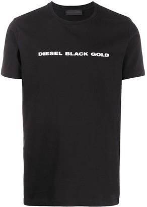 Diesel Black Gold logo-print crew neck T-shirt