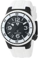 Swiss Legend Women's 11840P-BB-01-WHT Neptune Dial White Silicone Watch