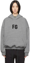 Fear Of God Grey FG Everyday Hoodie