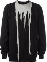 Rick Owens drip effect sweatshirt