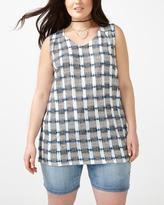 Penningtons Relaxed Fit Printed Tank Top