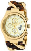 Jivago JV1231 Women's Lev Gold & Tortoise Stainless Steel Watch