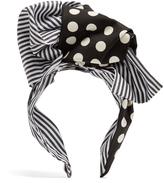 Dolce & Gabbana Polka-dot print headband